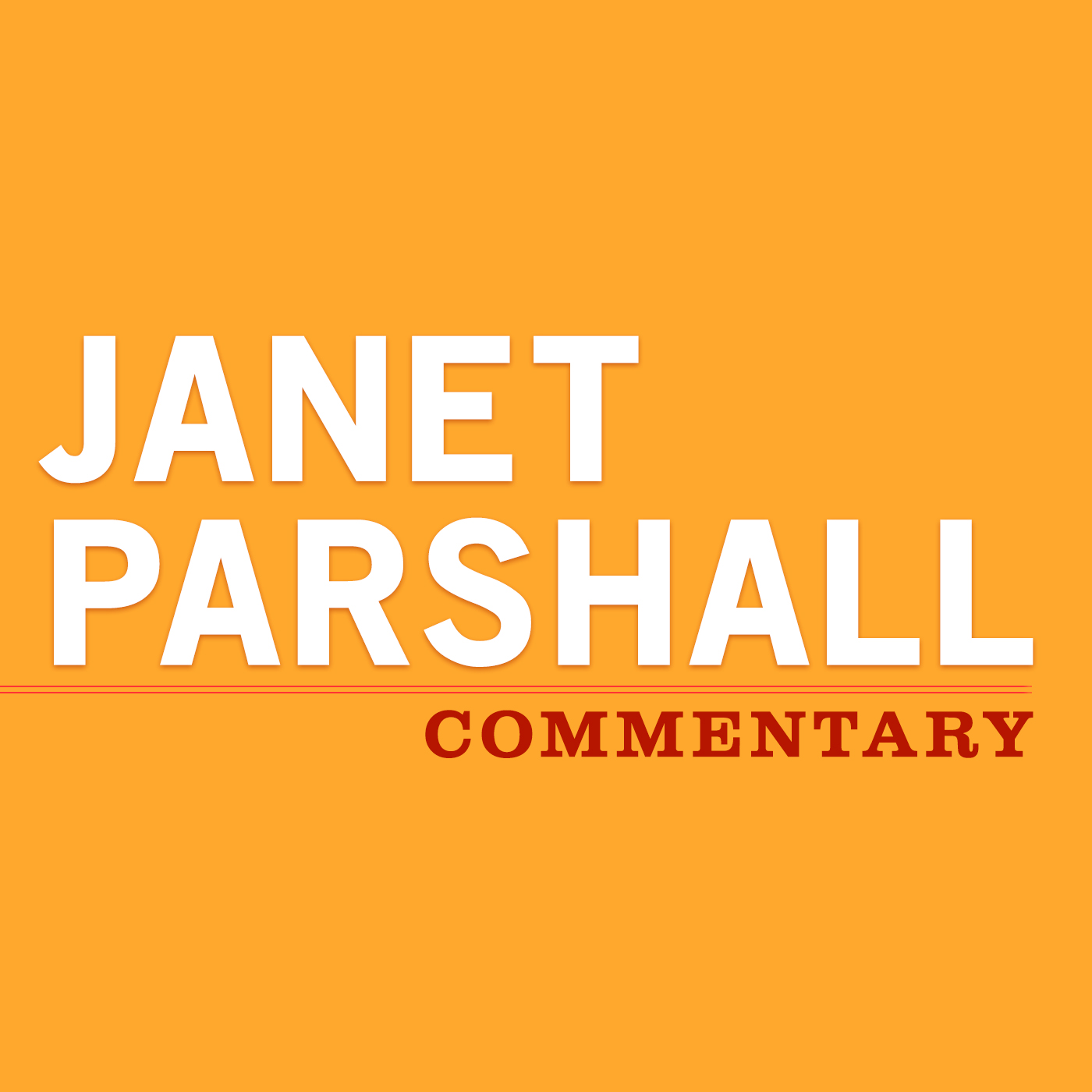 Janet Parshall Commentary